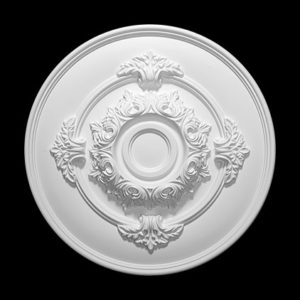 Trandafir de plafon model 1.56.049, profil 3D