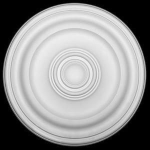 Trandafir de plafon model 1.56.050, profil 3D