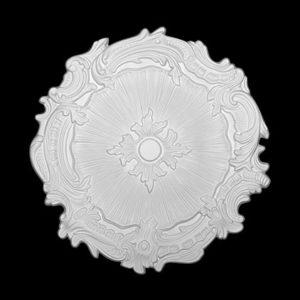 Trandafir de plafon model 1.56.051, profil 3D
