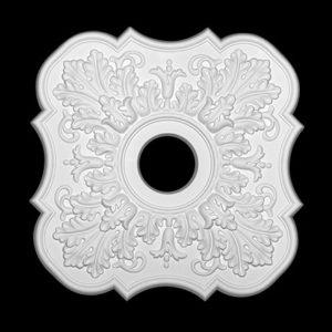 Trandafir de plafon model 1.56.053, profil 3D