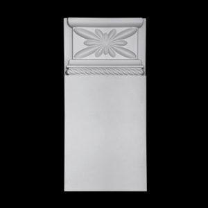 Bază model 1.54.030, profil 3D