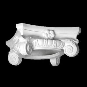 Capitel model 1.11.003, profil 3D