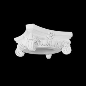 Capitel model 1.11.006, profil 3D