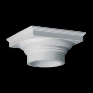 Capitel model 1.11.008, profil 3D