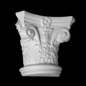 Capitel model 1.15.001, profil 3D