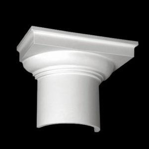 Capitel model 1.15.002, profil 3D
