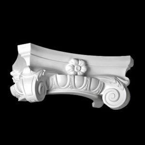 Capitel model 1.15.003, profil 3D