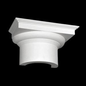 Capitel model 1.15.005, profil 3D