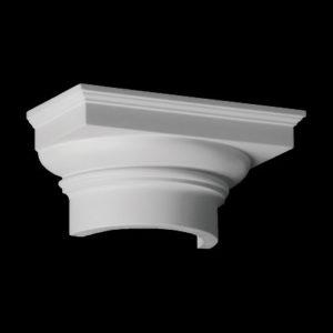 Capitel model 1.15.008, profil 3D