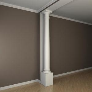 Coloană model 1.30.105, simulare cameră