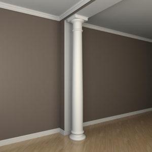 Coloană model 1.30.106, simulare cameră