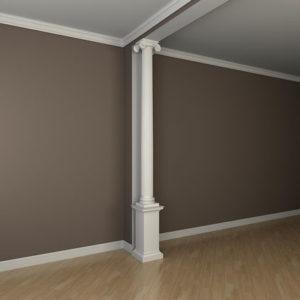 Coloană model 1.30.201, simulare cameră