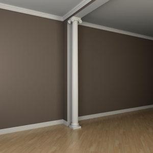Coloană model 1.30.202, simulare cameră