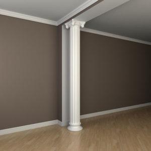 Coloană model 1.30.206, simulare cameră