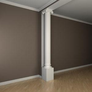 Coloană model 1.30.209, simulare cameră
