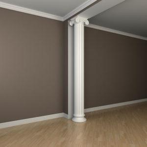 Coloană model 1.30.210, simulare cameră