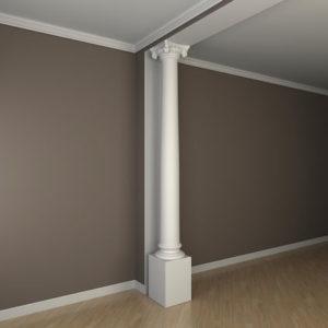 Coloană model 1.30.213, simulare cameră