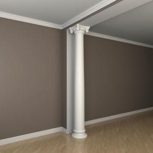 Coloană model 1.30.214, simulare cameră