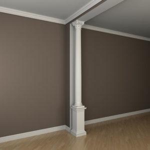 Coloană model 1.30.301, simulare cameră