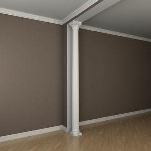 Coloană model 1.30.302, simulare cameră