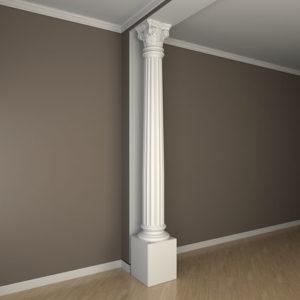 Coloană model 1.30.303, simulare cameră