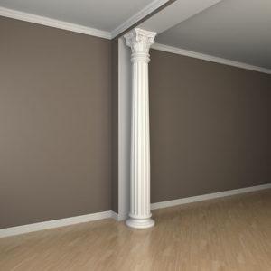 Coloană model 1.30.204, simulare cameră