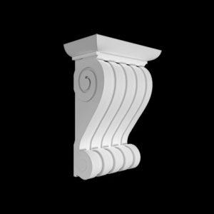 Consolă model 1.19.008, profil 3D