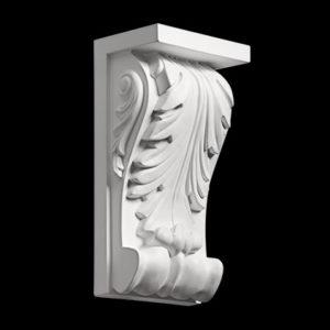 Consolă model 1.19.010, profil 3D