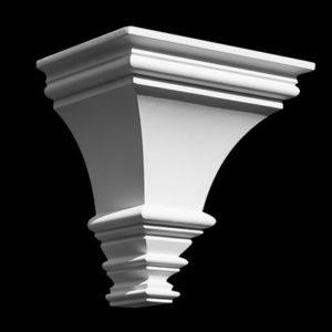 Consolă model 1.19.014, profil 3D