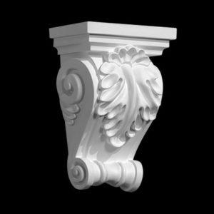 Consolă model 1.19.015, profil 3D