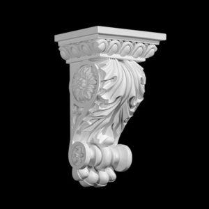 Consolă model 1.19.016, profil 3D