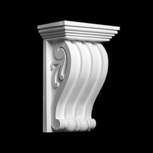 Consolă model 1.19.017, profil 3D