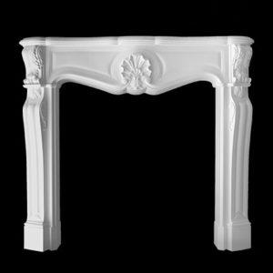 Element decorativ cămin model 1.64.101, profil 3D