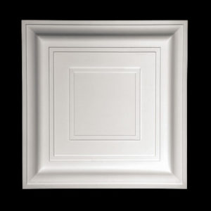 Panou plafon model 1.57.002, profil 3D