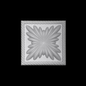 Pătrat model 1.54.013, profil 3D