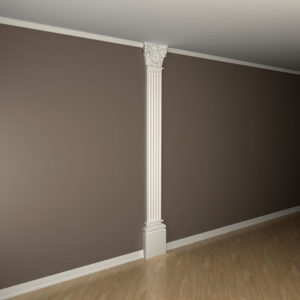 Pilon model 1.20.303, aplicație perete