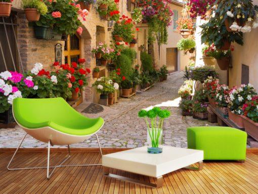 Tapet 3D Italia - Regiunea Umbria - 01