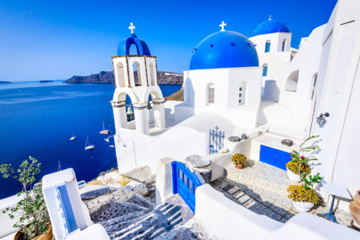 Fototapet Santorini 01-1