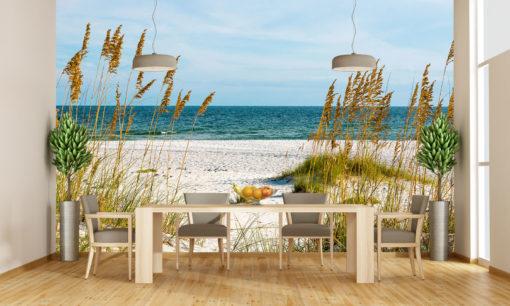 Tapet Foto 3D Plaja Stuf Natura Peisaje