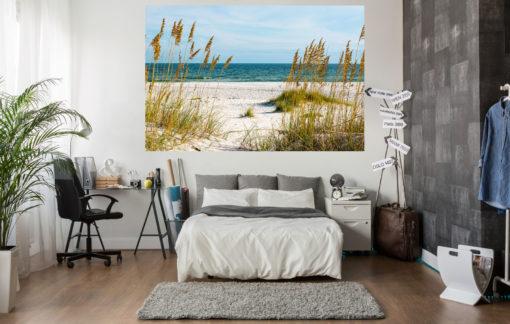 Fototapet 3D Plaja si Stuf - Simulare Camera tip Poster