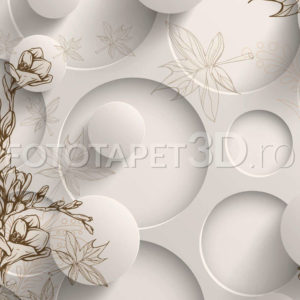 Fototapet Floral Abstract