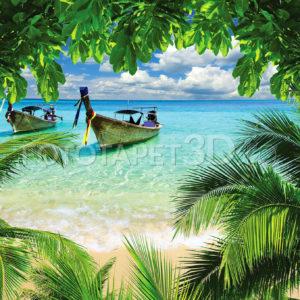 Fototapet Plaja Tropicala