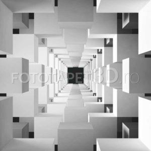 Fototapet Tunel de Cuburi
