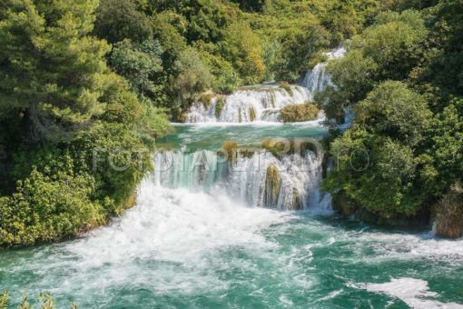 Cascada 57 Parcul National Krka Croatia