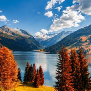 Fototapet Lac Montan 01-0316