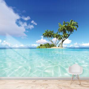 Fototapet Insula de Corali