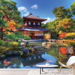 Fototapet Natura - Templul din Kyoto - Japonia