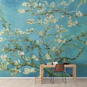 Van Gogh si Japonia - Fototapet