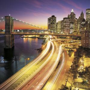 Fototapet Komar Luminile Orasului New York 8-516