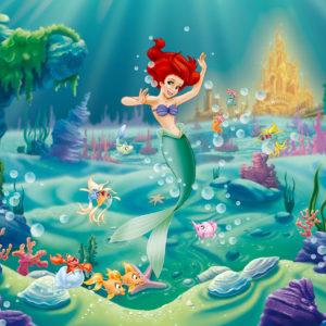 Fototapet Mica Sirena - Ariel si prietenii ei